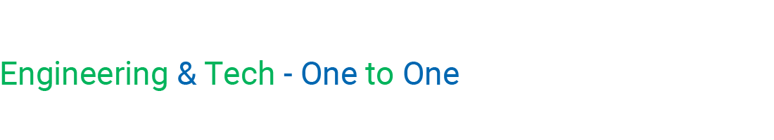 One to One - Engineering & Technical